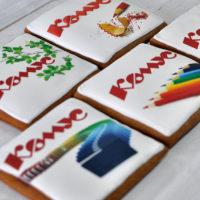 пряники с логотипом компании