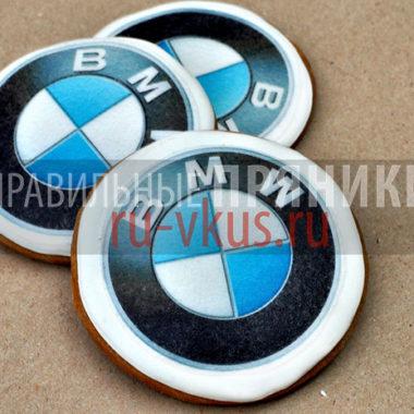 пряники печенье с логотипом компании на заказ
