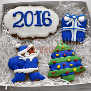 Корпоративные подарки сотрудникам новый год синяя обезьяна