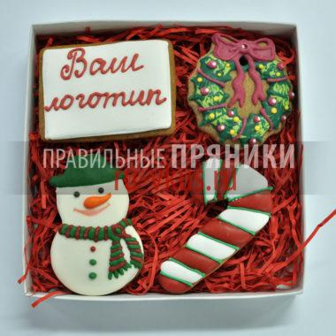 Корпоративные подарки пряники новый год