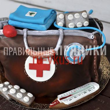 торт на заказ врачу подарок медику