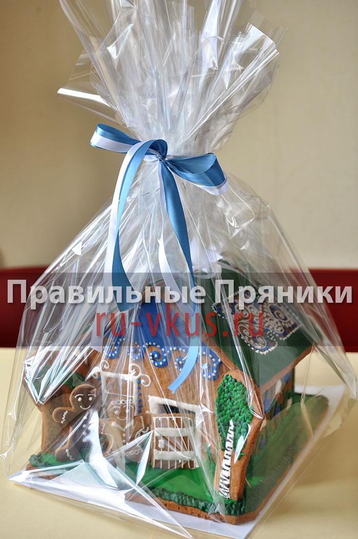 Упаковка для пряничного дома