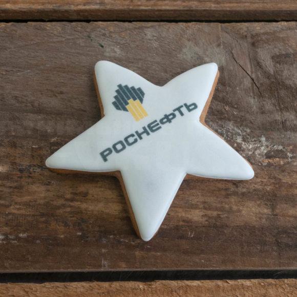 пряники с логотипом