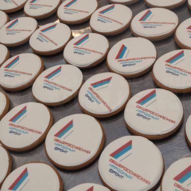 пряники с логотипом принт